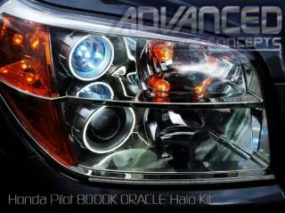 06+ Honda Pilot Headlight hid HALO Angel/Demon Eye Kit