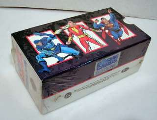 1991 DC Cosmic Cards Trading Card Deluxe Boxed Set