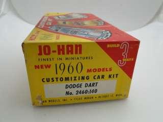 VINTAGE 1960 JO HAN MODEL DODGE DART 1/25