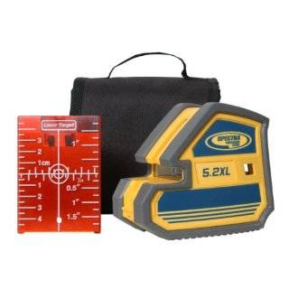 Spectra Precision 5.2XL 2 Point and Cross Line Laser Package with