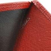 LOUIS VUITTON Epi KOALA Wallet Coin Purse Red LV