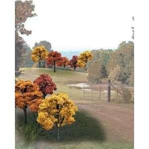 Woodland Scenics TR1576 Fall Deciduous Trees (23): Toys & Games