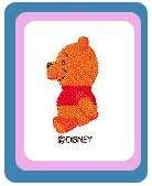 New Brother Disney Winnie Pooh Honey Toys Design Card