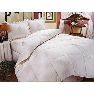Sateen White Goose Down Bedding Comforter, 400 Thread