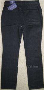 NWT NYDJ NOT YOUR DAUGHTERS JEANS * MARILYN STRAIGHT LEG * GRAY * 4 US