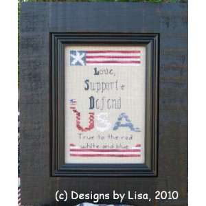 & Defend (with button)   Cross Stitch Pattern: Arts, Crafts & Sewing