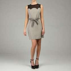 MICHAEL Michael Kors Womens Circle Jacquard Dress