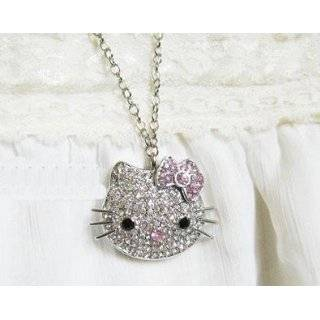 GB Hello Kitty Crystal Jewelry USB Flash Memory Drive Necklace