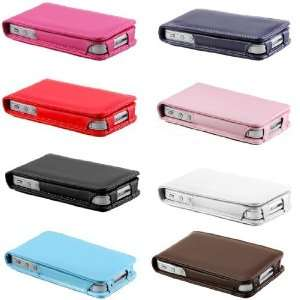 10pcs/lot High Quality for Iphone 4 Leather Flip Case