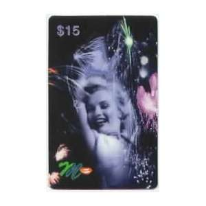 Marilyn Collectible Phone Card $15. Marilyn Monroe With