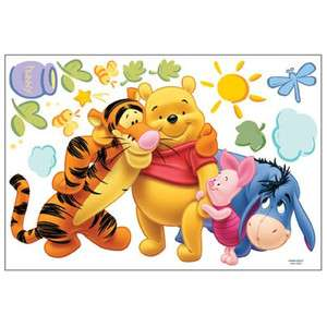 Disney WINNIE THE POOH Mural Art Wall Sticker Decal Kid