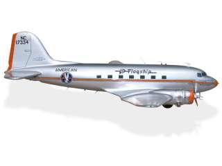 Douglas DC 3 American Airlines Desktop Airplane Model
