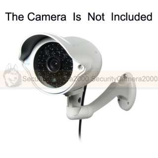 White Wall Mount Metal Material Bracket for CCTV Camera