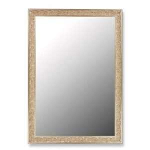 271004 Cameo 41x53 Euro Decor Silver Wall Mirror