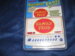 Tiger Electronic Travel Game Family Feud New NIP 1997