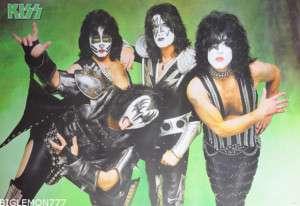 KISS Rock Band Group Music Poster #1 24x35