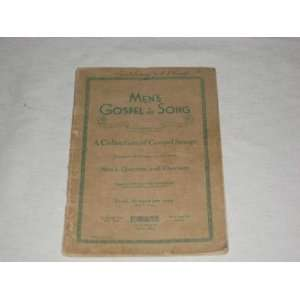 com MENS GOSPEL IN SONG A Collection of Gospel Songs Lorenz Books
