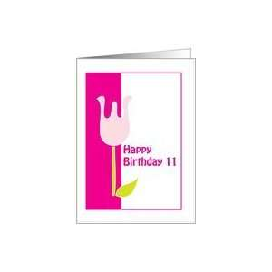 Birthday 11 year old girl Card: Toys & Games