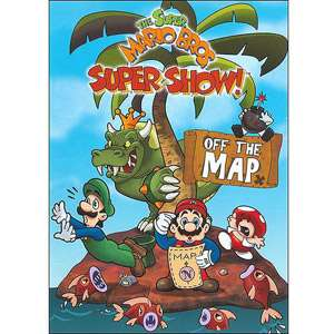 Super Mario Bros. Super Show Off The Map TV Shows