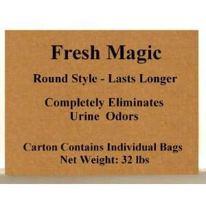 Fresh Magic Original ROUND style Crystal Litter 32 lb Case