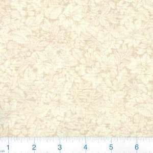 45 Wide Bountiful Harvest Leaves Cream Fabric By The
