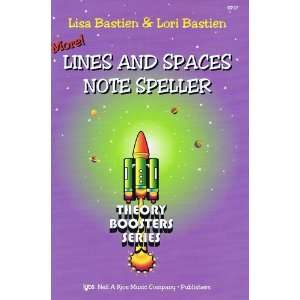 And Spaces Note Speller, Theory Boosters Series Musical Instruments