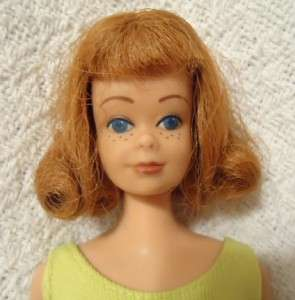 MATTEL 1962 STRAIGHT LEG TITAN BARBIE DOLL MIDGE CLOTHES JAPAN SHOES