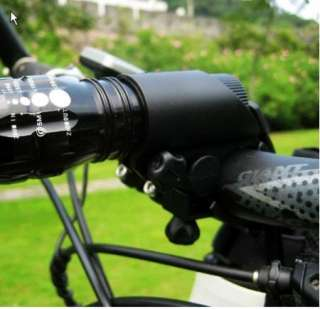 Cycling Bicycle Bike Flashlight LED Torch Mount Holder