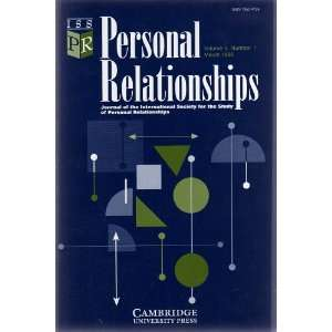 RELATIONSHIPS (Journal of the International Society for the Study