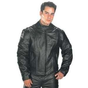Classic Mens Premium Top Grade Leather Speedster Motorcycle Jacket
