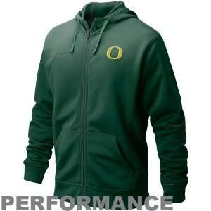Nike Oregon Ducks Green Full Ride Performance Hoody