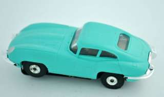 1963 70 AURORA HO SCALE JAGUAR XKE #1358 SLOT CAR LIGHT BLUE |