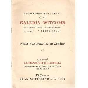 Exposicion   Venta Anual De La Galeria Witcmb De Buenos