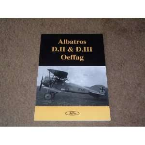 Albatros D.II & D.III Oeffag: Petr Janda: Books