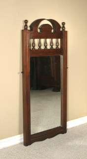 3Ft Solid Mahogany Rectangular Wall Hanging Vanity Mirror bwmir