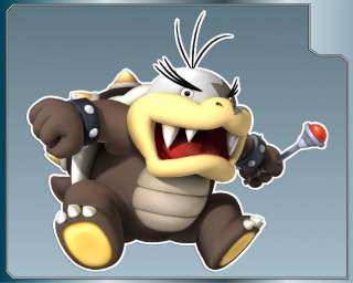 MORTON KOOPA Jr. vinyl decal Super Mario Bros. Sticker