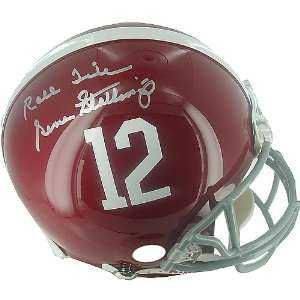 Autographed Roll Tide University Of Alabama Full Size Authentic Helmet