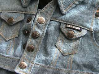 Authentic Harley Davidson Doll/Bear Denim Kids Clothes