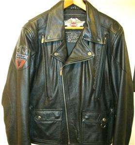 Harley Davidson Leather Jacket Force Eagle 97076 06VM 3XL