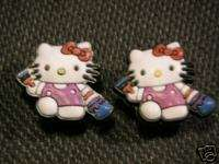 HELLO KITTY charms fits CROCS & JIBBITZ
