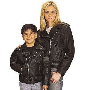 Womens Leather Motorcycle Jacket  Excelled Clothing Womens Outerwear