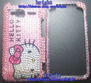 hello Kitty Bling Full Case for HTC EVO Shift 4G #1