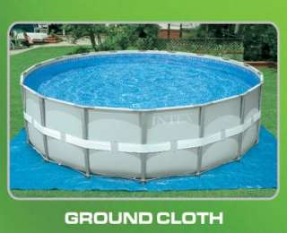 INTEX 18 x 52 Ultra Frame Swimming Pool Set w/ Sand & Saltwater