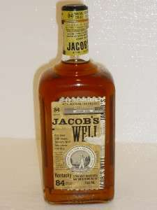 JACOBS WELL BY JIM BEAM RARE DISCONTINUED KENTUCKY STRAIGHT BOURBON