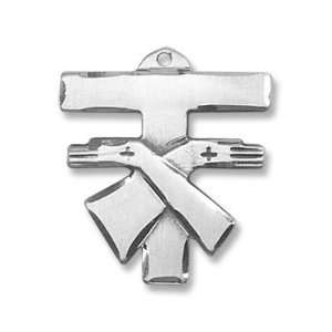 Franciscan Tau Sterling Cross: Jewelry