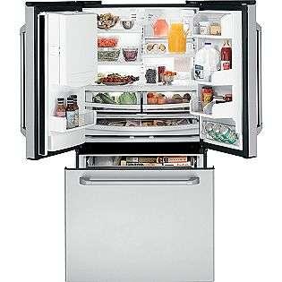 21.3 cu. ft. Counter Depth French Door Refrigerator   Stainless Steel