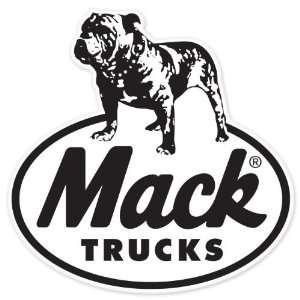Mack Trucks vynil car sticker window decal 5 x 5
