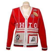 Ohio State Buckeyes Ladies Sweater
