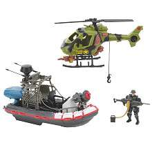 True Heroes Boat & Helicopter Military Mobile Squad   Toys R Us