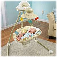 Fisher Price Cradle Swing   Animal Krackers   Fisher Price   Babies